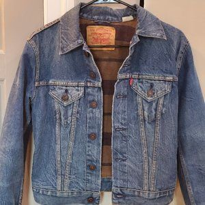 Levi Strauss,  Blanket Lined Denim Jacket